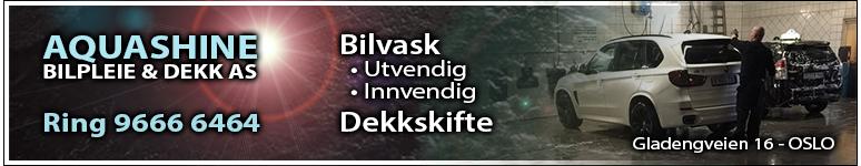 AQUASHINE BILPLEIE & DEKK AS