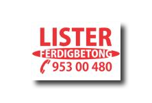 LISTER FERDIGBETONG AS