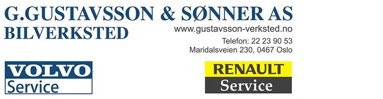 G. GUSTAVSSON & SØNNER BILVERKSTED AS