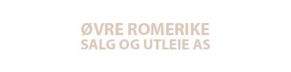 ØVRE ROMERIKE SALG OG UTLEIE AS