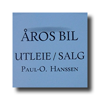 ÅROS BIL PAUL HANSSEN